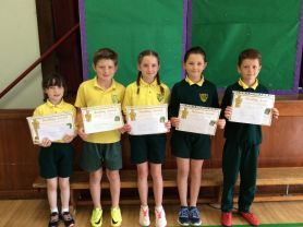 Accelerated Reading Prize-winners
