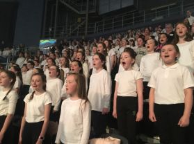 St Patrick's Choir Wow Audience at Belfast Peace Proms