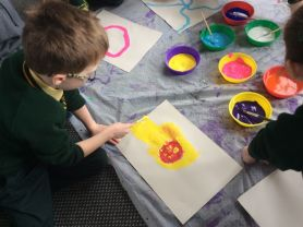 P3 Artists at work!