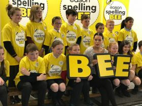 Rory is joint 2nd in Spelling Bee Final