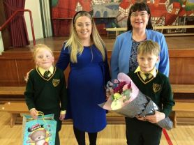 We say goodbye to Mrs McGovern
